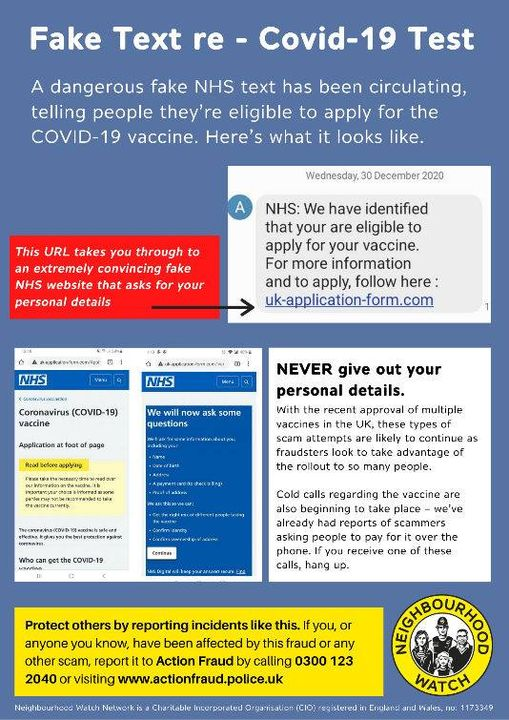 COVID scam